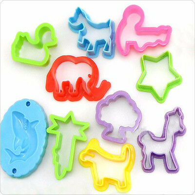 Playdough 23 pcs Color Clay Mould Set Plasticine Molds Play Doh Tool For Kids