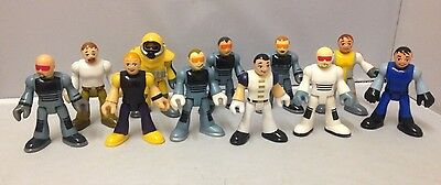 Fisher Price Imaginext Various Figure Collection x 11 City Services etc