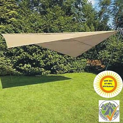 NEU Protected Awning 3x4m wind protection triangle Scarf Top Sunshade