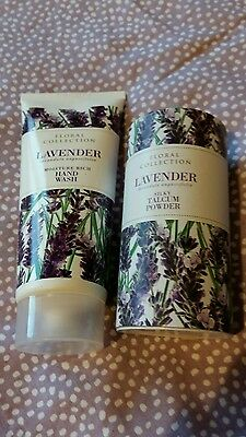 Marks and Spencer lavender hand wash and talc new