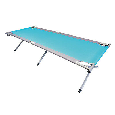 Camping Bed Camp cot im XXL Format mit adjustable 2 levels Sunbathing area