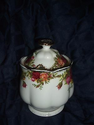 Royal Albert  Old Country Roses Jam Or Jelly Pot