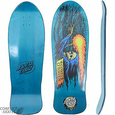 Santa Cruz O'brien Reaper Blue Stain Reissue Skateboard Deck