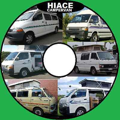 Toyota Hiace Van 1977-To-2009 Master Workshop Service Repair Manual