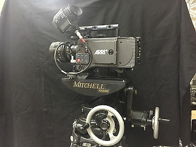 Mitchell Vitesse Geared Head - Mitchell Camera - Arri RED Sony Canon Panavision