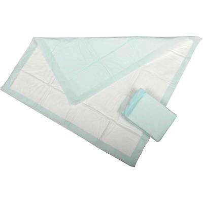 100 17x24 Disposable Adult Incontinence Bed Chair Wheelchair Pad Underpad Light