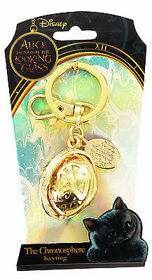 Alice Through the Looking Glass Pewter Key Ring: Chronosphere