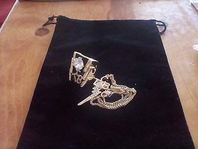Elvis Tcb Ring Jewelry Set Size 11