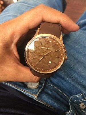 Mens Watch Not Armani