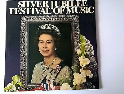 Silver Jubilee festival of Music double LP records