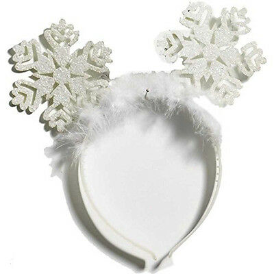 Christmas Snow Flake Costume Headband One Size Fits Most