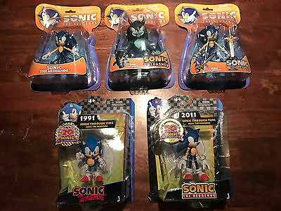 Sonic The Hedgehog - Action figure selection New in packaging 5 figures