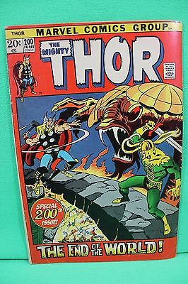 The Mighty Thor #200 Loki Comic by Marvel Comics G