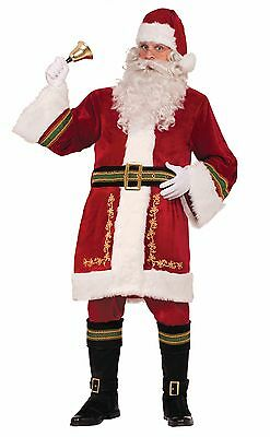Deluxe Santa Claus Adult Black Belt Costume Accessory One Size