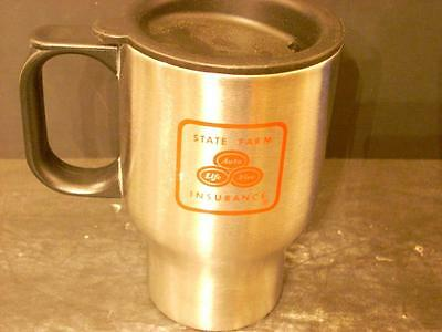 State Farm Insurance Stainless Steel Travel Mug South Central Region (4D)
