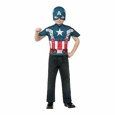 Winter Soldier Marvel Retro Muscle Captain America Child Costume One Size