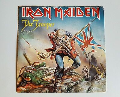 IRON MAIDEN  the trooper  single promotional spanish