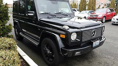 2004 Mercedes-Benz G-Class  2004 Mercedes-Benz G500