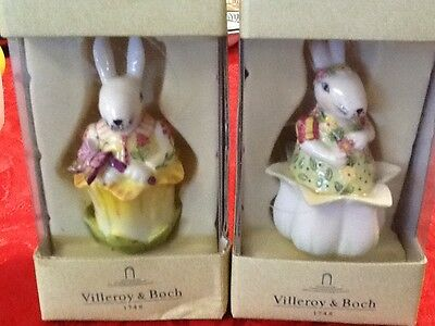 Villeroy & Boch Happy Ornament Bunny Rabbit NIB