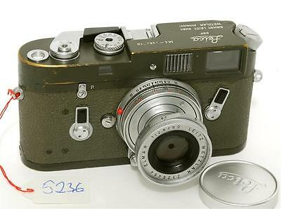 @ Leica M4 Olive Bundeswehr German Military Camera 1970 in Original Condition!