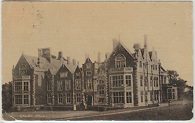 Melton Mowbray - Dalby Hall - Leicestershire - Early Photographic Postcard -