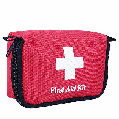 Travel First Aid Kit Bag Home Small Emergency Medical Survival Rescue Box~