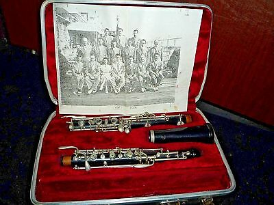 Oboe instrument With a Case As Pictured