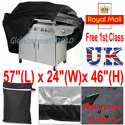 Outdoor Grill Protector Garden Waterproof Heavy Duty Bbq Cover Barbecue Cover Uk