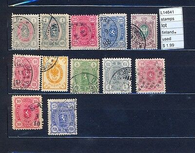 Stamps Lot Finland Used  (L14641)