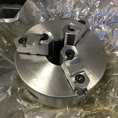 "8"" Dia 3 Jaw Self Centering Direct Mount D1-6 Lathe Chuck"