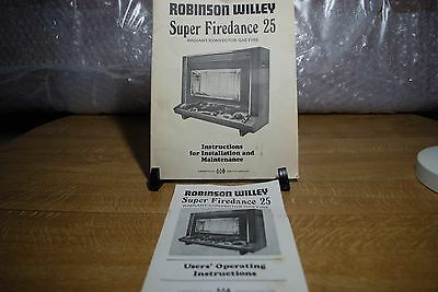 Vintage Robinson Willey Super Firedance 25 Instructions