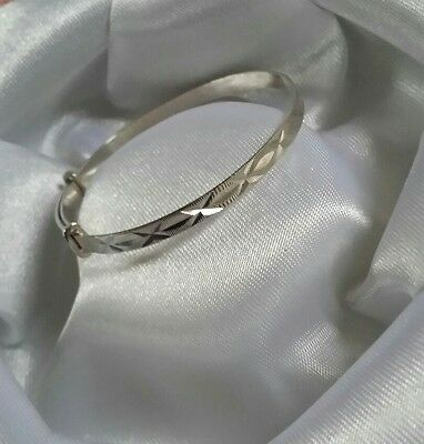Silver Baby Braclete