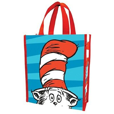 Dr. Seuss Cat In The Hat Small Recycled Shopper Tote Bag Thing 1 2