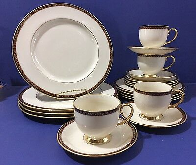 Lenox MONROE Presidential China Collection Four 5 Piece Place Settings