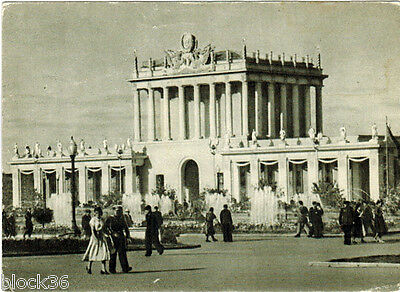 1955 ALL-UNION AGRICULTURAL EXHIBITION OF USSR: Pavilion of Leningrad and NW