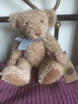 """cute RUSS BEARS VINTAGE COLLECTION 14"""" jointed bear With Tags And Stud"""