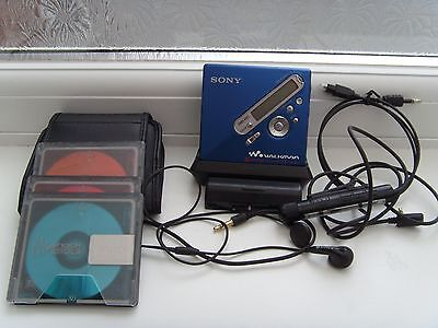 Sony Net MD MZ-N710 Personal MiniDisc Player Recorder VGC