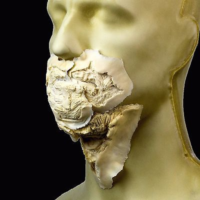 Rubber Wear Foam Latex Prosthetic - Small Zombie Mouth 3 pcs FRW-114 - Makeup FX