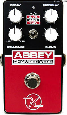 NEW KEELEY 30MS ABBEY CHAMBER GUITAR EFFECTS PEDAL 0$ US S&H w/ FREE CABLE