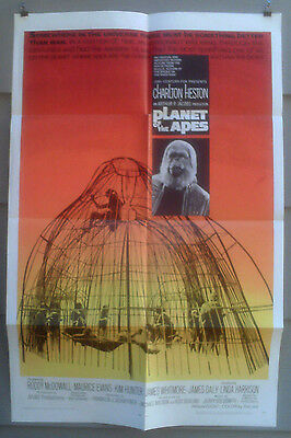 Planet Of The Apes Orig 1968 Near Mint One-Sheet