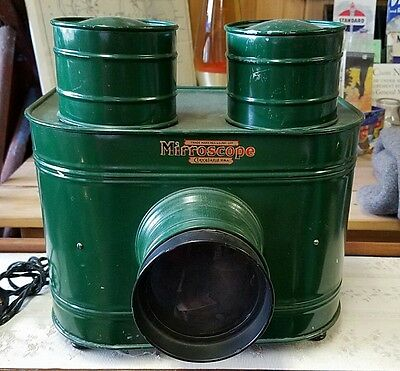 Antique Mirroscope Magic Lantern Projector Excellent Condition & Works
