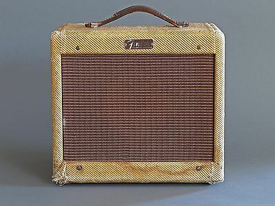 Fender Tweed Champ Amp 1957 Vintage Amplifier Worldwide Shipping
