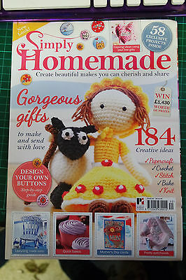 Simply Homemade ~ Issue 40 ~ no pages missing + Pattern sheet