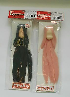Obitsu 11cm Head 11-01 1/12 Rooted Doll Heads Lot Natural Black White Pink