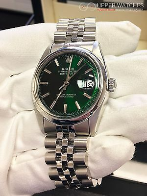 ROLEX DATEJUST 1601 Green Hulk Dial Exclusive!!! , $2,990.00