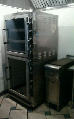 Electric oven with proofer