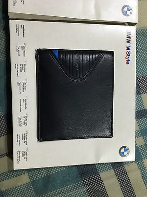 Very Rare BMW M Style 80's Classic Wallet Made In Germany Genuine Leather