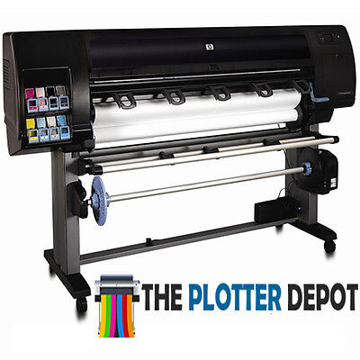 "Hp Designjet Z6100Ps 60"" Wide Format Printer Plotter Reconditioned 90 Day Warran"