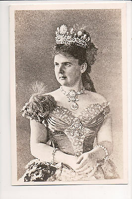 Photo Card Princess Emma of Waldeck and Pyrmont Queen of Holland