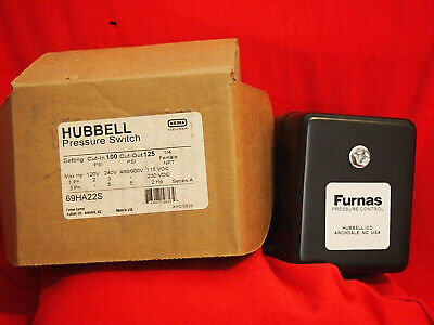Hubbell, Furnas New 69Ha22S Pressure Switch (3B0)